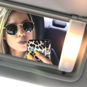 Rayban 50mm round sunglasses